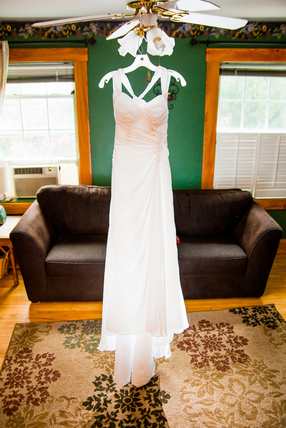 wedding dress day light hanging rose finley the focus photography