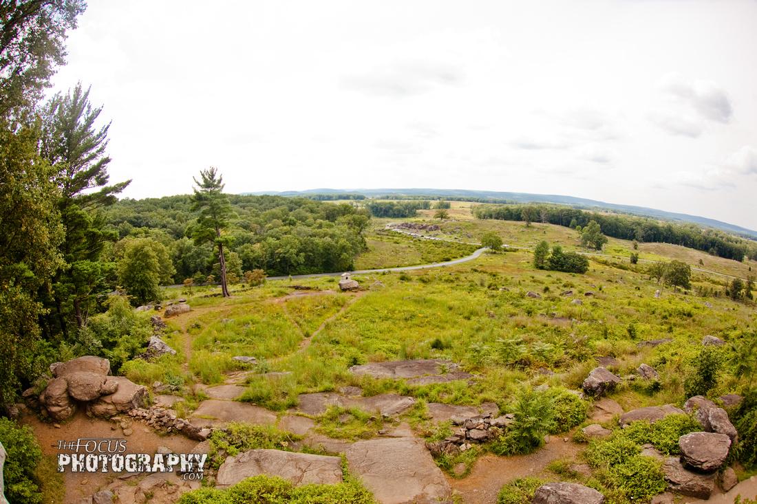 Battlefield, gettysburg, pennsylvania, little round top, devels den, tourist, civil, war, park,