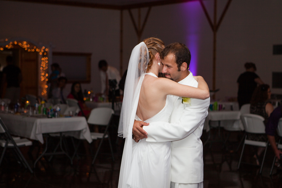 bride and groom first dance outdoor wedding photography harrisburg central pennsylvania rose finley the focus photography