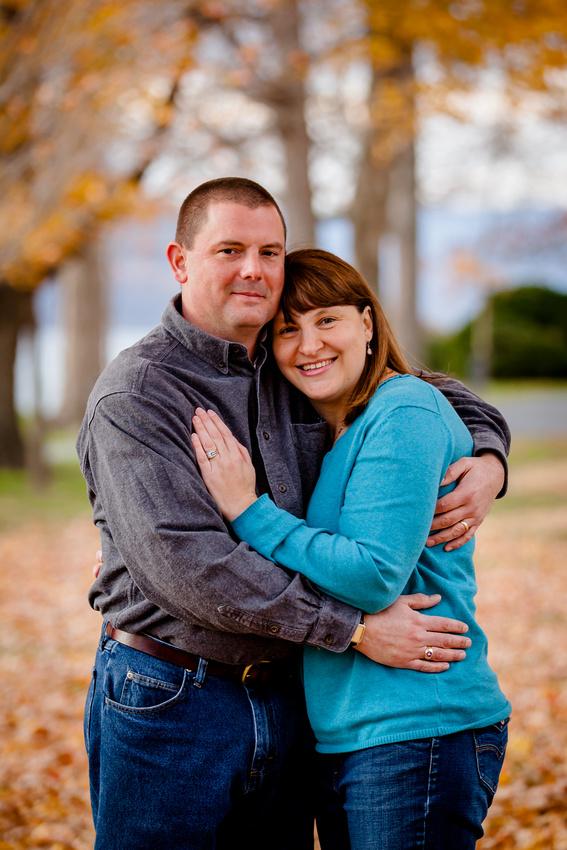husband and wife portrait fort hunter park