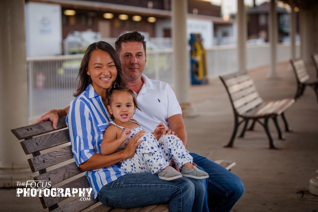 Lancaster train station family photos