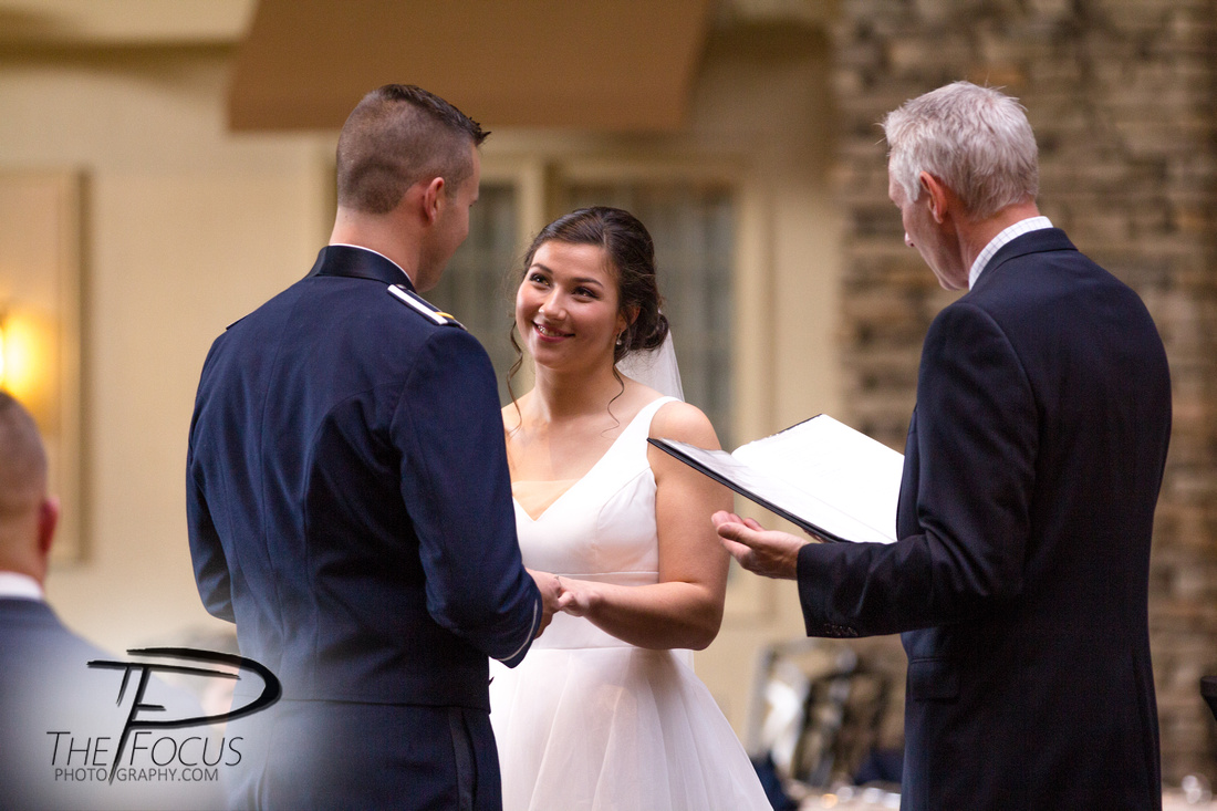 wedding ceremony at eden resort lancaster, PA