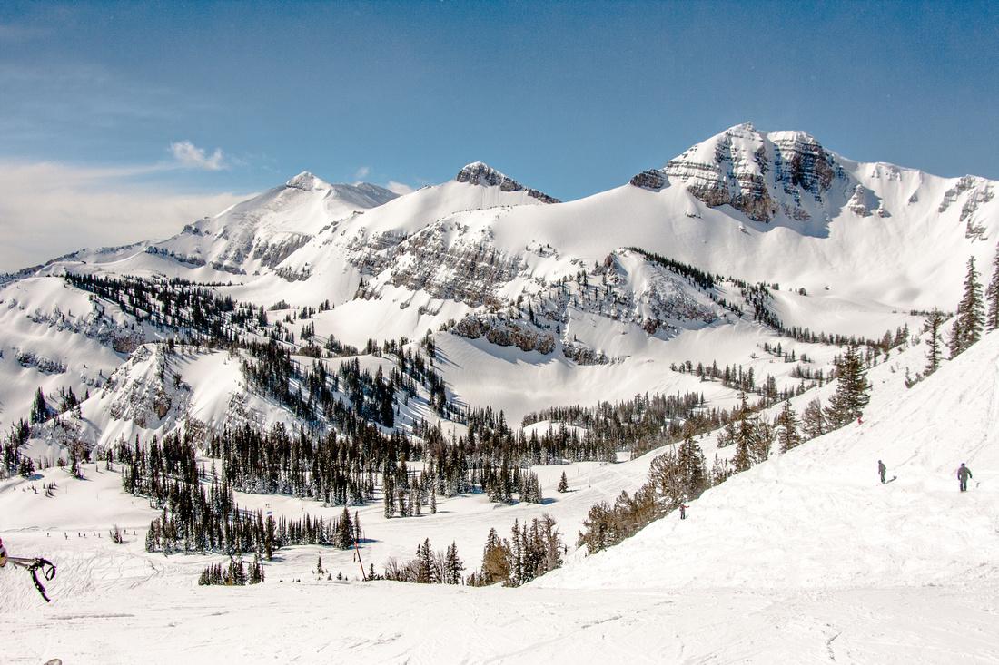 Jackson Hole wyoming skiing