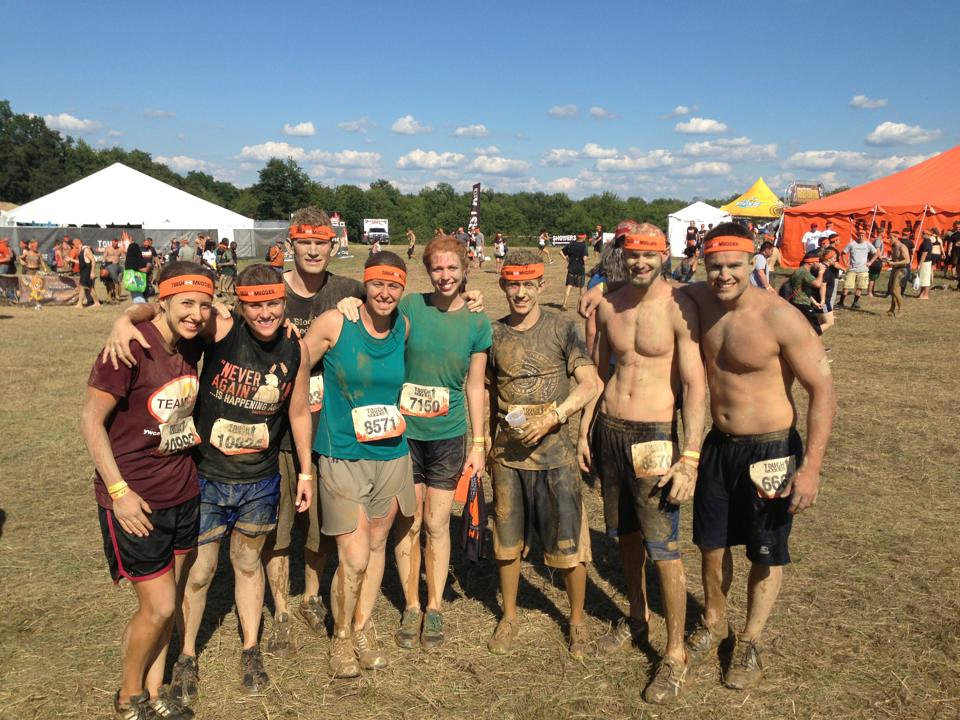 completed my First tough mudder