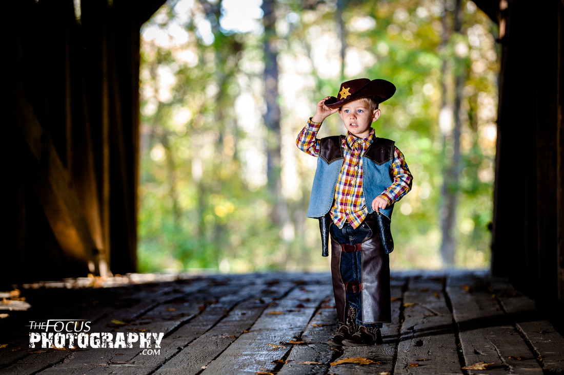 Little boy cowboy photo shoot