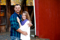 Luke and Brittany Engagement Photos 10-18-15