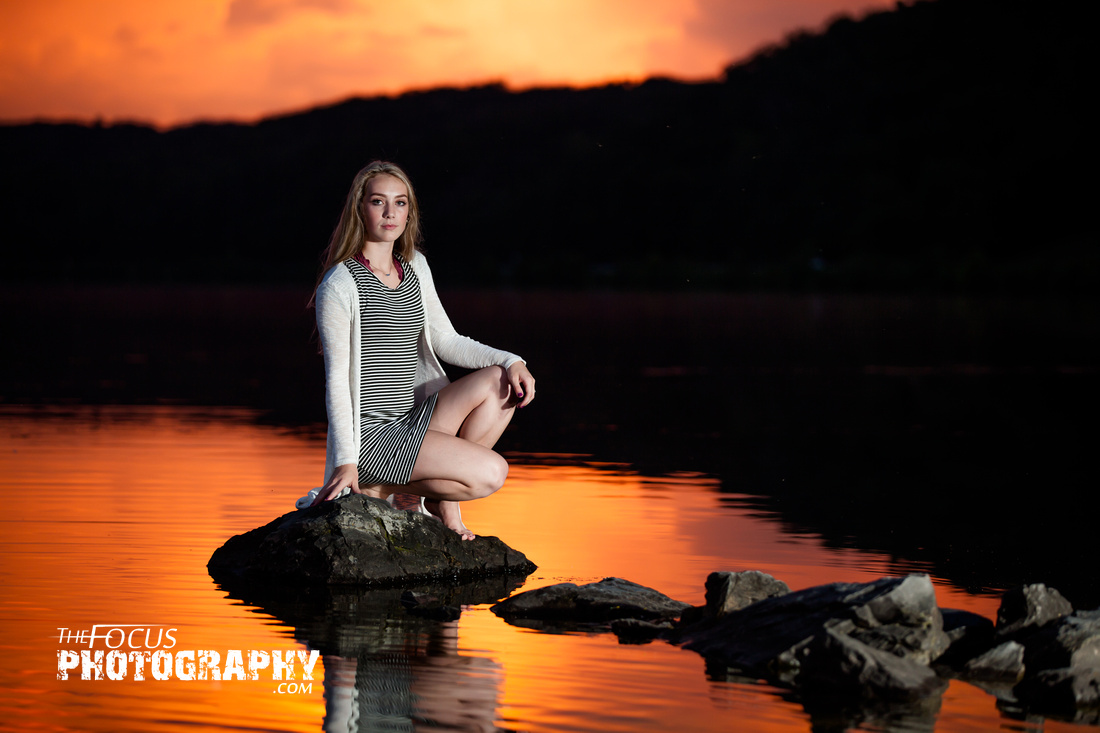 Senior portraits little buffalo state park