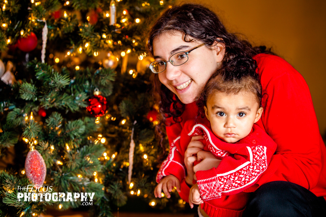 Little girl christmas pictures