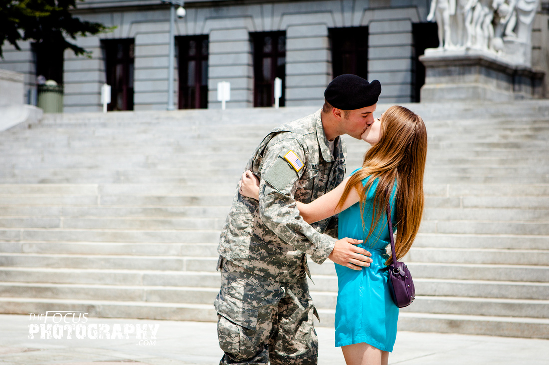 soldier proposal Pennsylvania state capital building