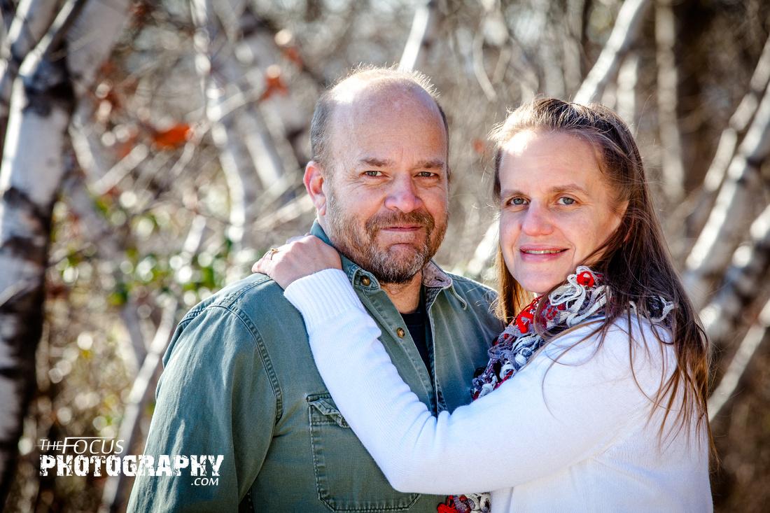 Mt Pocono couple portraits