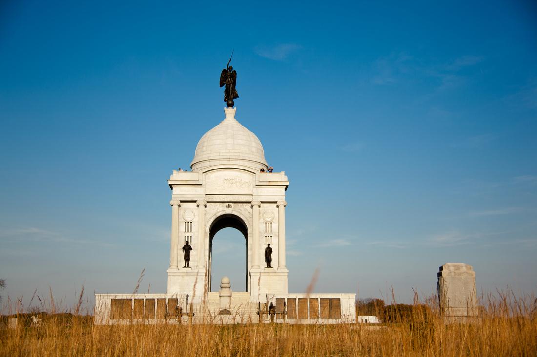 Pennsylvania Monument Gettysburg Pennsylvania