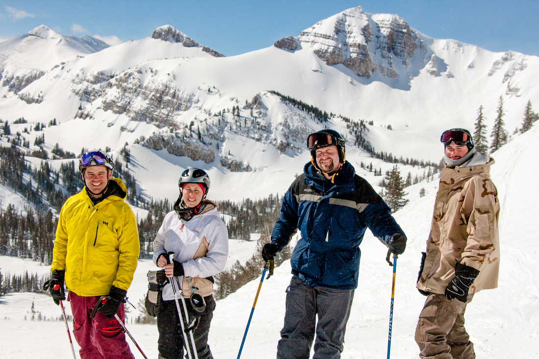 Jackson Hole wyoming skiing