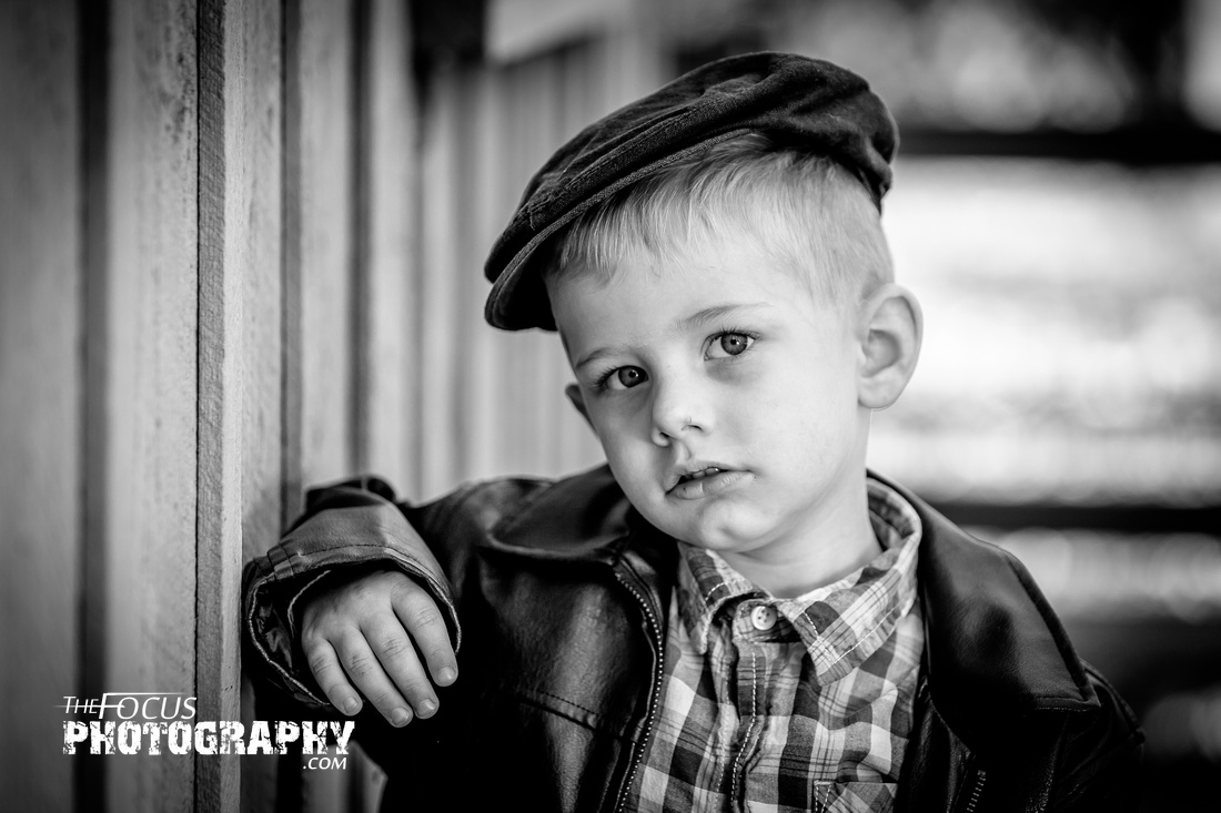 classic boy photo shoot black and white