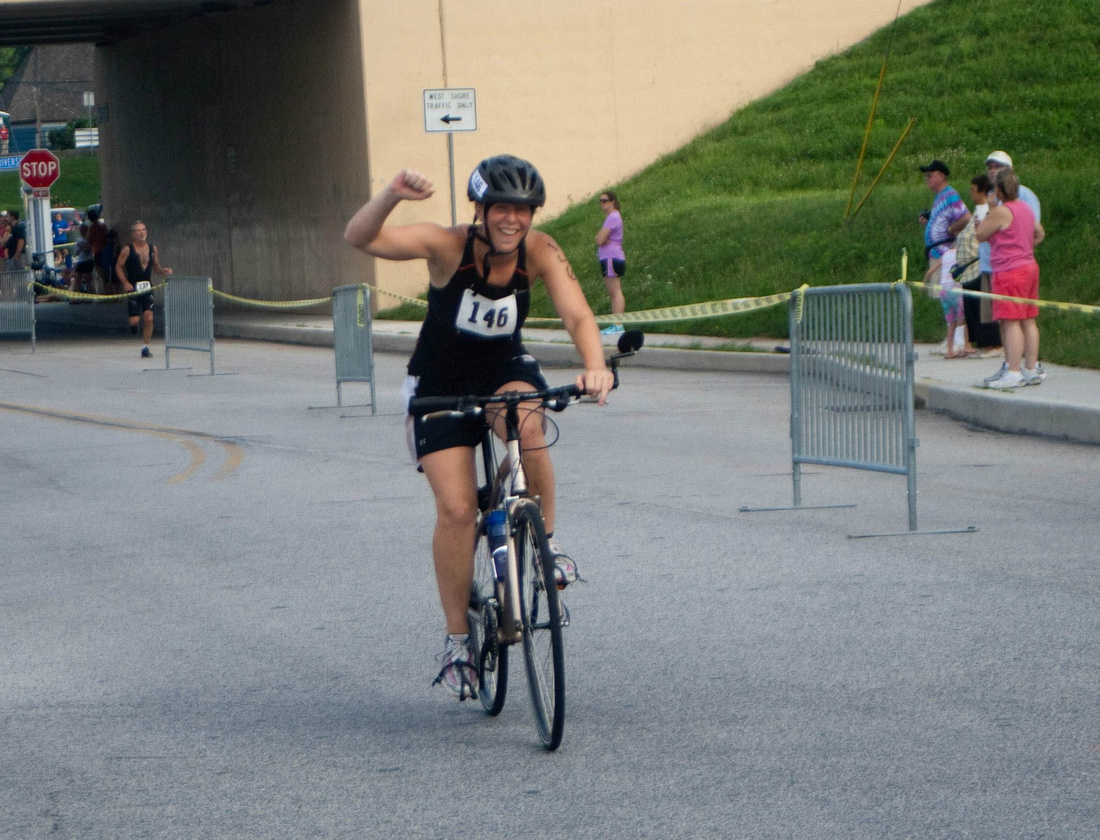 completed my first Triathlon