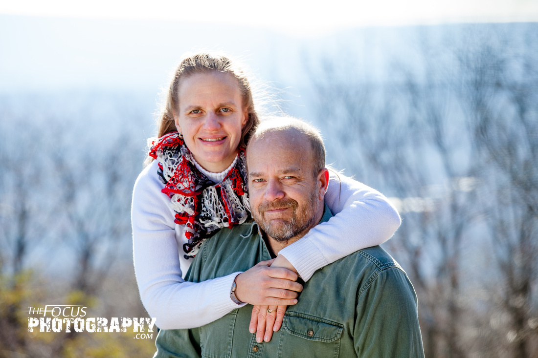 Mt Pocono couple portraits